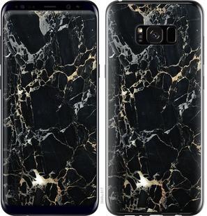"Чехол на Samsung Galaxy S8 Plus Черный мрамор ""3846c-817-15886"""