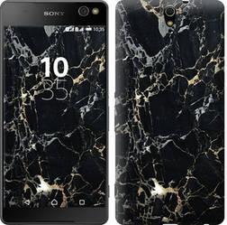 """Чехол на Sony Xperia C5 Ultra Dual E5533 Черный мрамор """"3846c-506-15886"""""""