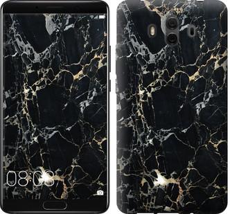 """Чехол на Huawei Mate 10 Черный мрамор """"3846u-1116-15886"""""""