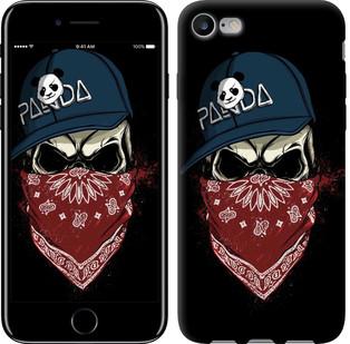 "Чехол на iPhone 7 Череп в кепке ""4127c-336-15886"""