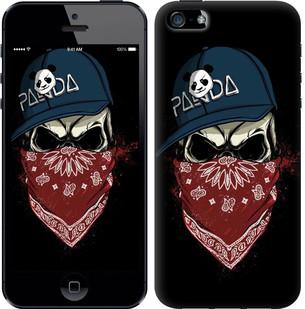 "Чехол на iPhone SE Череп в кепке ""4127c-214-15886"""