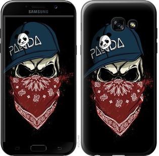"""Чехол на Samsung Galaxy A5 (2017) Череп в кепке """"4127c-444-15886"""""""