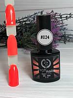 Гель лак каучуковый 15 мл Profi nails # 024