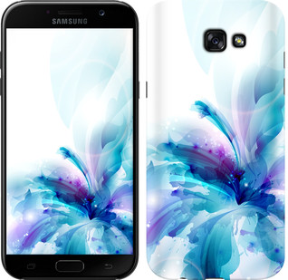 "Чехол на Samsung Galaxy A7 (2017) цветок ""2265c-445-15886"""