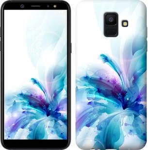 """Чехол на Samsung Galaxy A6 2018 цветок """"2265u-1480-15886"""""""
