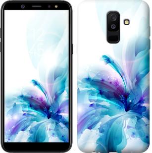 "Чехол на Samsung Galaxy A6 Plus 2018 цветок ""2265c-1495-15886"""