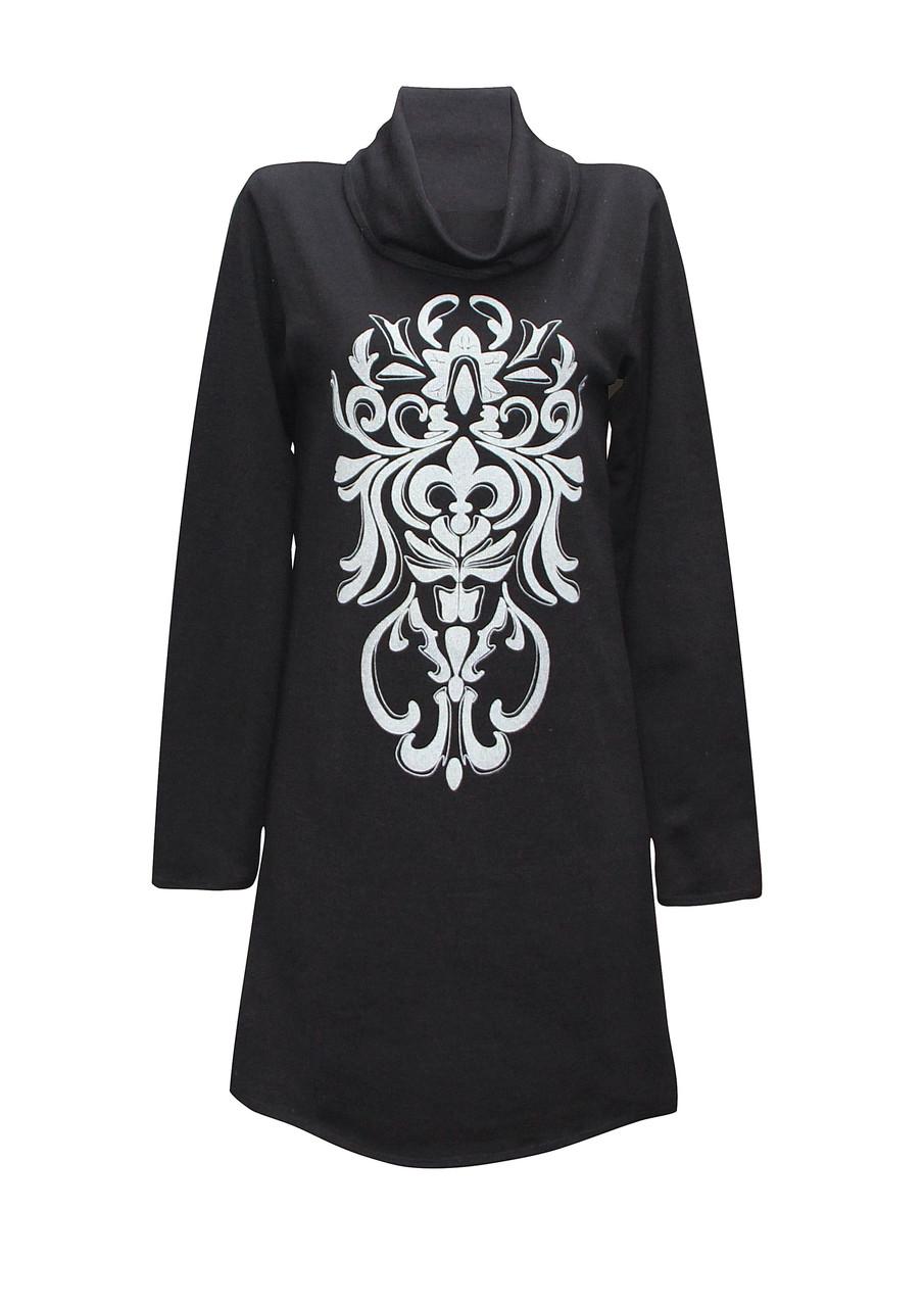 Платье с воротником больших размеров Анжелика для женщин