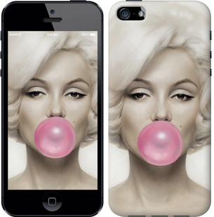 "Чехол на iPhone SE Мэрлин Монро ""1833c-214-15886"""