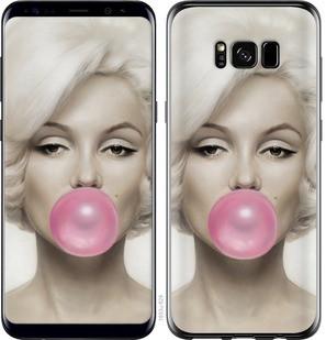 "Чехол на Samsung Galaxy S8 Мэрлин Монро ""1833c-829-15886"""