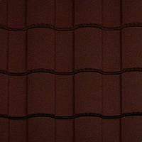 Композитная металлочерепица Metrotile Roman Bordeaux