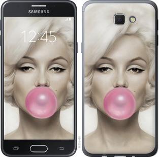 "Чехол на Samsung Galaxy J5 Prime Мэрлин Монро ""1833u-465-15886"""