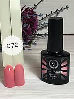 Гель лак каучуковый 15 мл Profi nails # 072