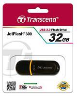 USB Flash 2.0 Transcend Jet Flash 32 Gb TS32GJF300 black/orange