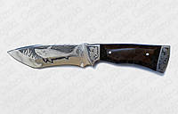 """Нож """"Акула """" ручной работы из нержавеющей стали"""