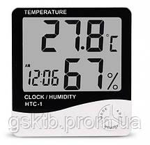 Термометр - гигрометр HTC-1, фото 3