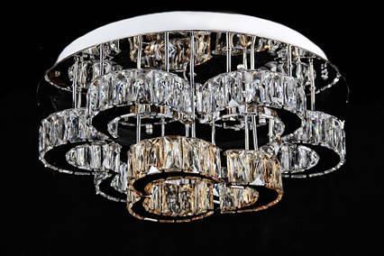 Светодиодная хрустальная люстра L78324/9 (CR+SHANBIN) LED, фото 2