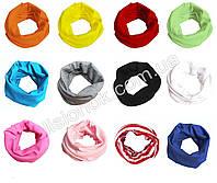 Трикотажный шарф хомут, фото 1