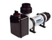 Электронагреватель компактный пластиковый Pahlen 3кВт с реле потока и термостатом 220В
