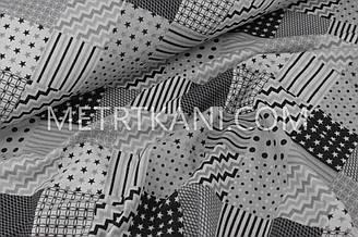 Фланель постельная серых оттенков 240 см 100% хб №1221