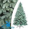 Искусственная голубая силиконовая елка КОВАЛЕВСКАЯ 210 см