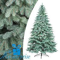Искусственная голубая силиконовая елка КОВАЛЕВСКАЯ 210 см, фото 1