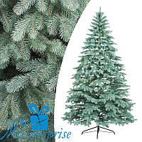 Искусственная голубая силиконовая елка КОВАЛЕВСКАЯ 230 см, фото 1