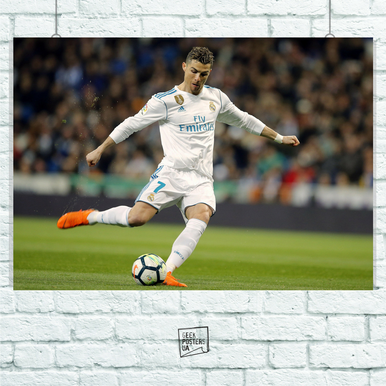 "Постер ""Cristiano Ronaldo, Рональдо"", футбол. Размер 60x42см (A2). Глянцевая бумага"