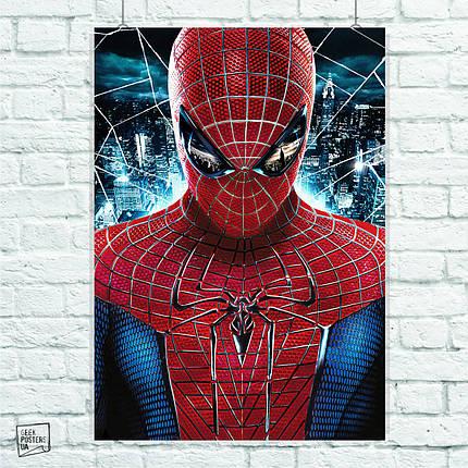 Постер The Amazing Spider-Man, Человек-паук, Спайдермен. Размер 60x42см (A2). Глянцевая бумага, фото 2