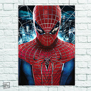 Постер The Amazing Spider-Man, Человек-паук, Спайдермен. Размер 60x42см (A2). Глянцевая бумага