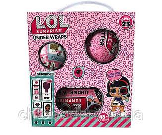 Кукла L.O.L. Surprise набор Under Wraps