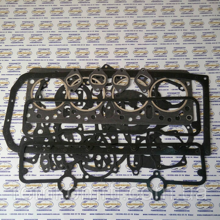 Набор прокладок для ремонта двигателя СМД 14-22 (прокладки паронит)