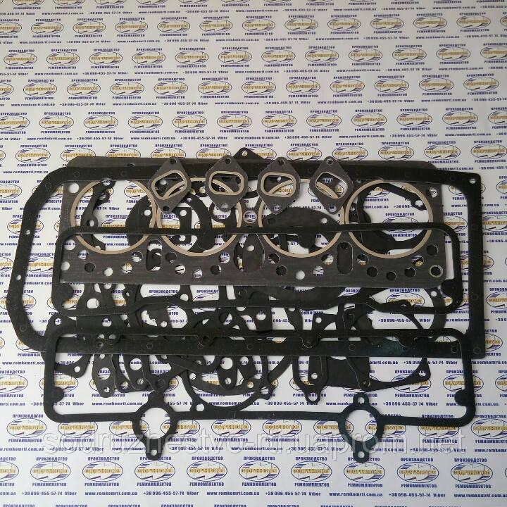 Набор прокладок двигателя СМД-14-22 Полный (прокладки паронит)