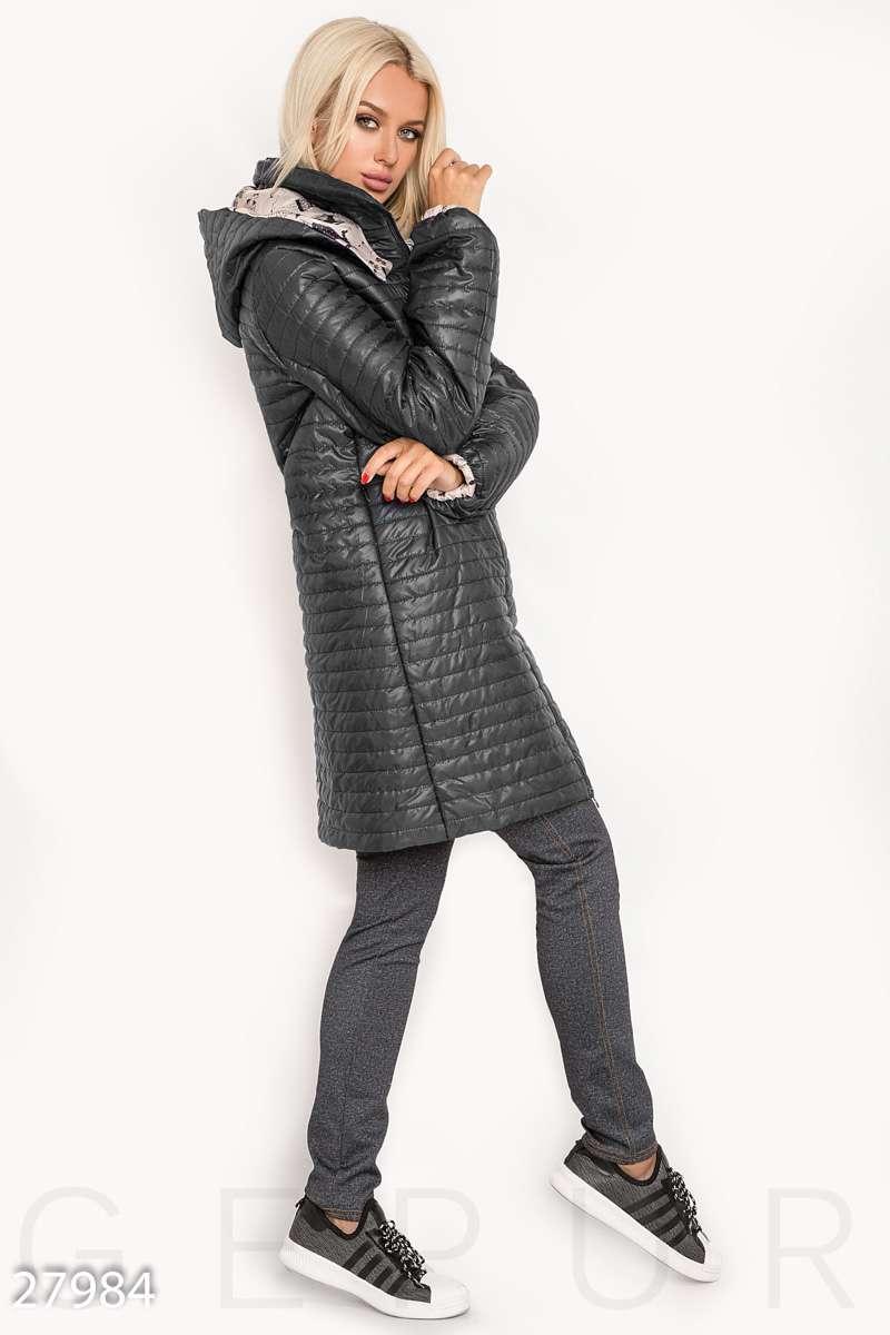 f517c00fe58 Стеганое осеннее пальто - Интернет-магазин одежды ТОПШОП в Мариуполе