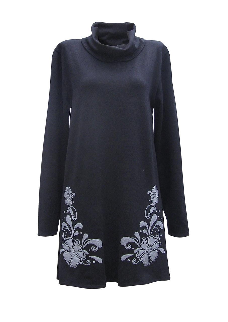 Вечернее платье с воротником Барвинок нарядное