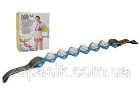 Роликовый Ручной Массажер Лента Massage Rope
