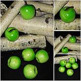 Яблочки искусственные - муляж из пенопласта h-4 см, 50 шт\уп., 125 грн, фото 2