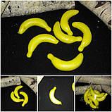 Искусственные бананы, пенопласт, 6.5 см., 50 шт., 125 грн., фото 2
