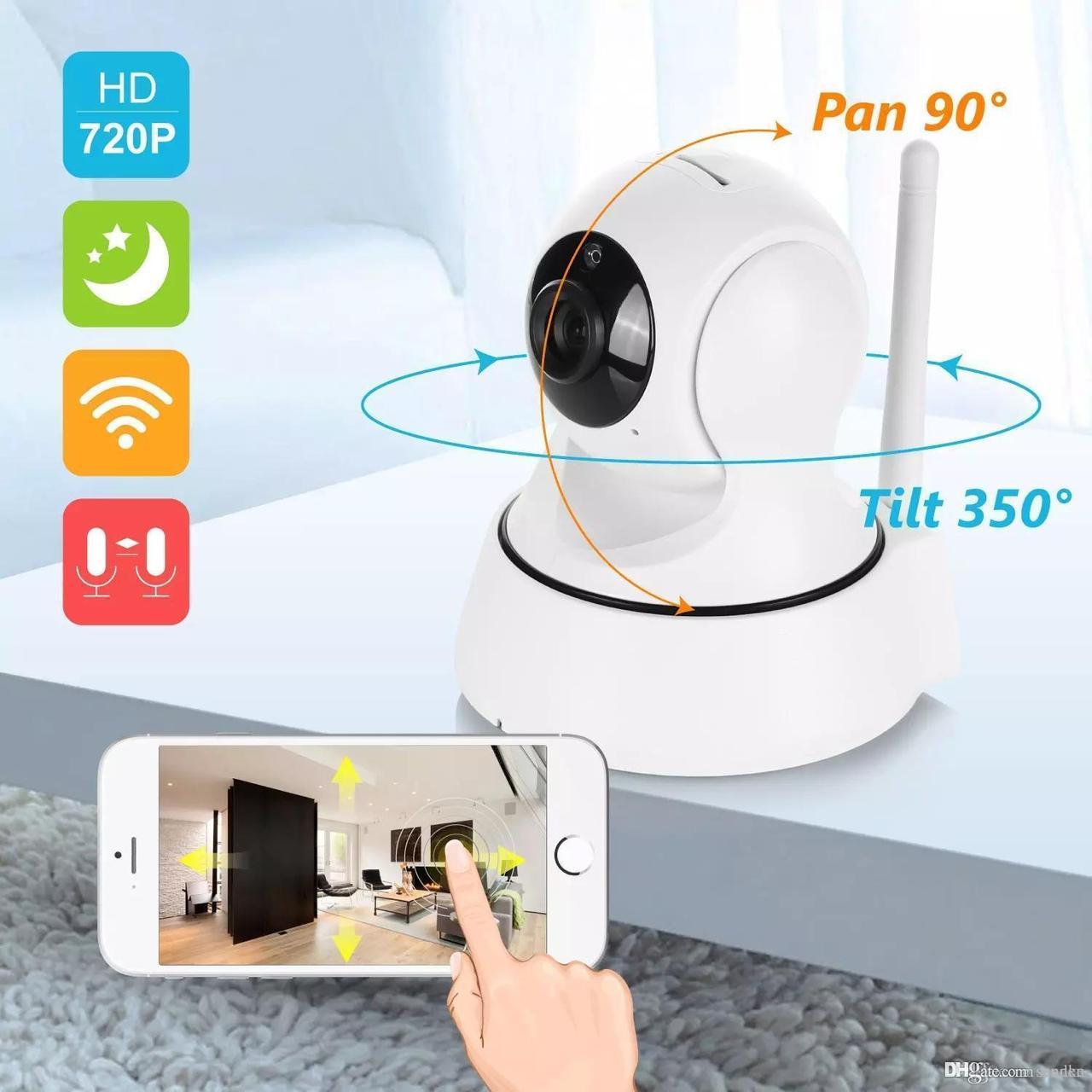Инфракрасная WiFi IP Camera SDETER 720HD