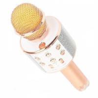 Ручной Беспроводной Караоке Микрофон WS 858 Bluetooth Karaoke