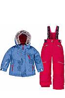 Зимний комплект для девочки Deux par Deux F801/728