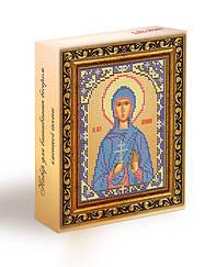 Набор для вышивания бисером икона Святая Мученица Антонина