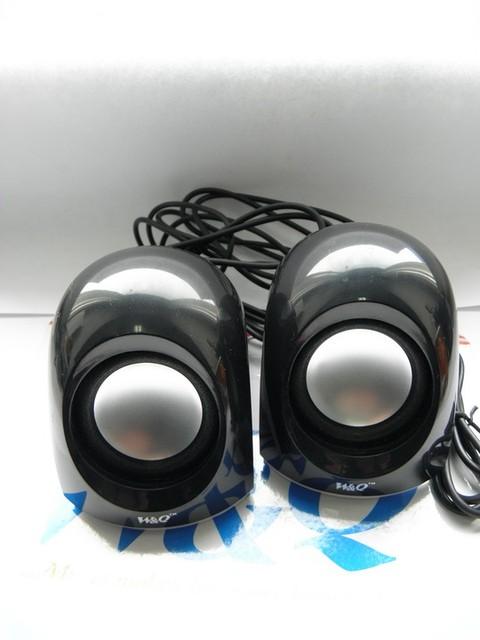 W&Q-03  USB акустика колонки качество! Чёрные