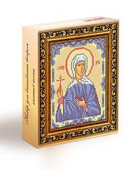 Набор для вышивания бисером икона Святая Дарья