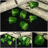 Болгарский перец зеленого цвета, пенопласт, выс. 3.5 см., 50 шт., 125 грн., фото 2