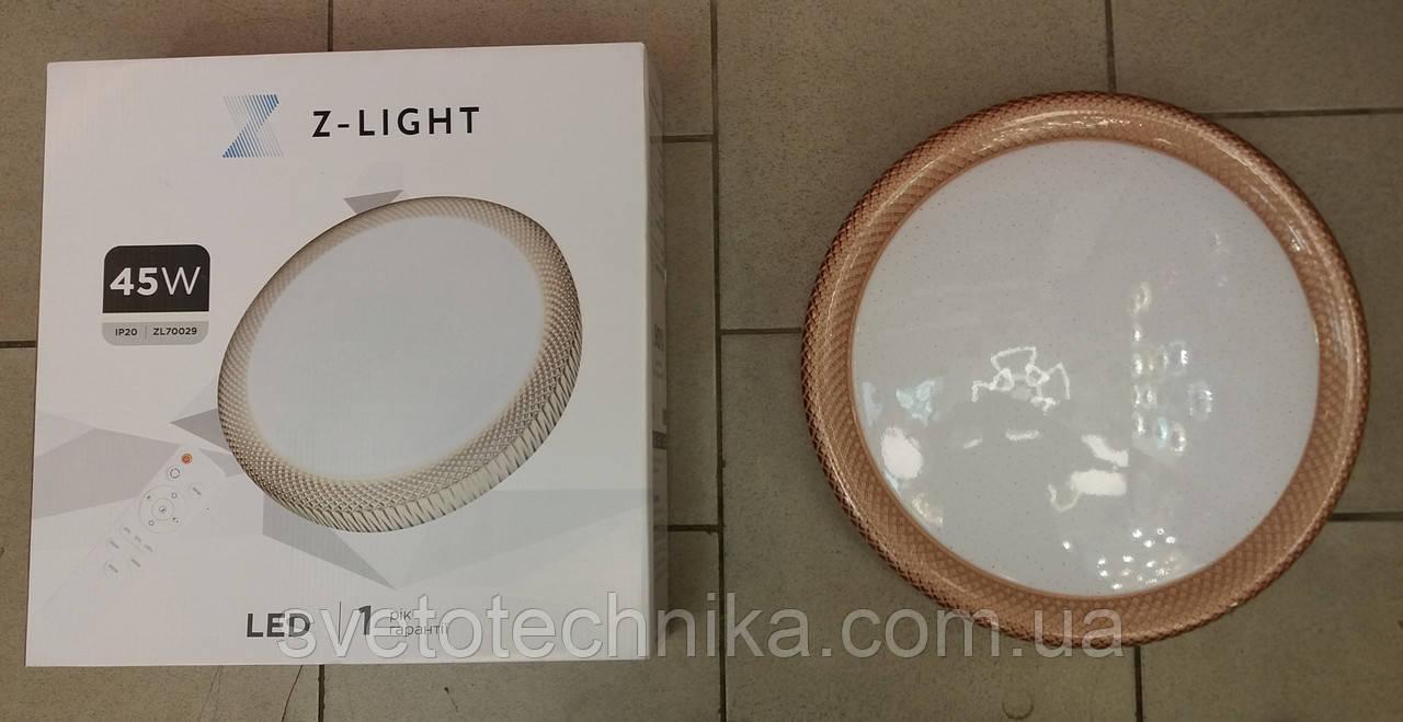 Светодиодный светильник с пультом Z-LIGHT 70029 45W