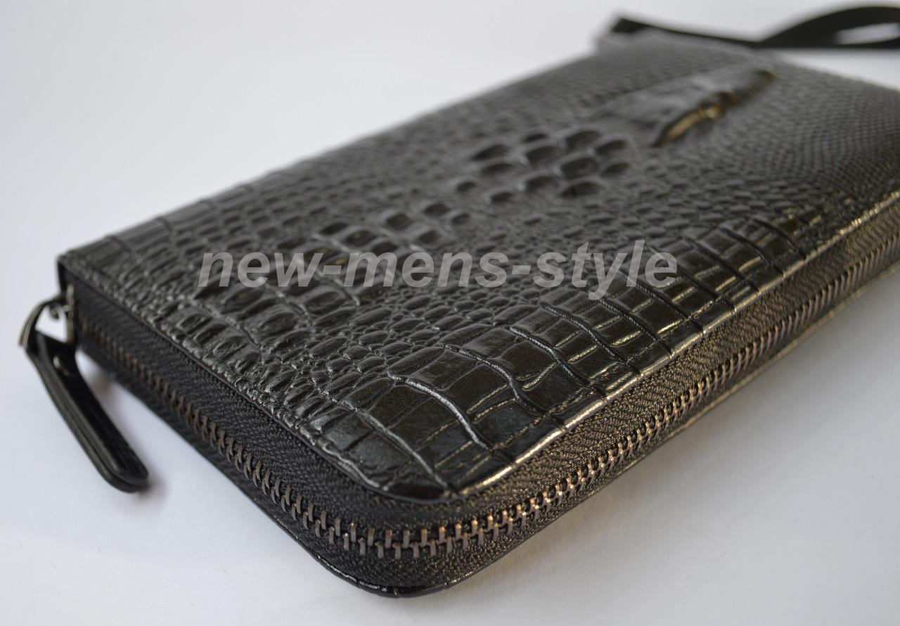 ... Мужской кожаный кошелек портмоне клатч барсетка Wild Alligator Lacoste,  ... d03ef4b9e4e