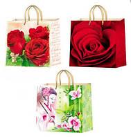 Подарочный пакет150*150 Микс женский