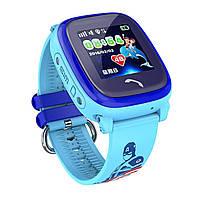 Умные GPS часы UWatch Baby DF25 водонепроницаемые Синие (hub_MfAi22611458)