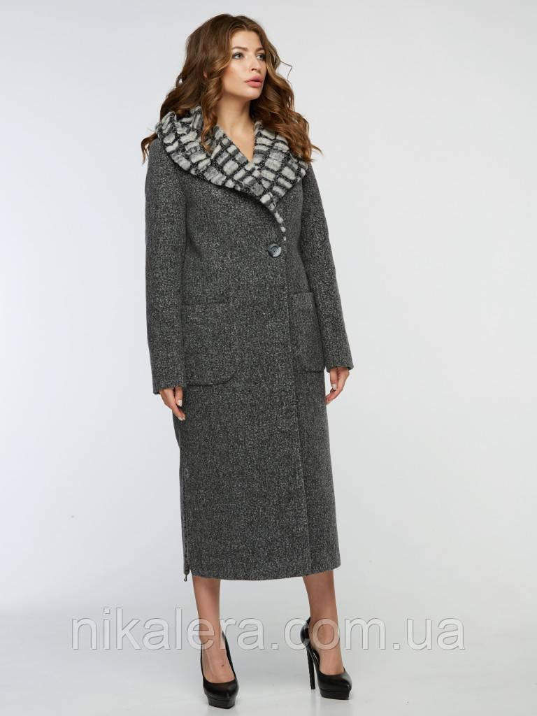 Женское зимнее пальто с капюшоном рр 42-54