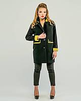 Пальто двухцветное , фото 1